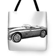Aston Martin Db-5 Tote Bag by Peter Piatt