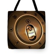 Aston Martin Fuel Filler Cap Tote Bag