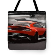 Aston Martin Vantage Gt12 - Trackday Tote Bag