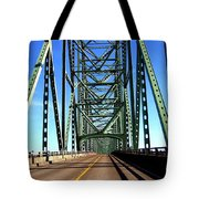 Astoria-megler Bridge Tote Bag