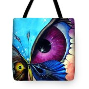 Astral Butterfly. Soul - Memory - Mind Tote Bag