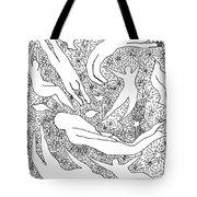 Astral Dancing Tote Bag
