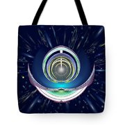 Astral Speedway Tote Bag