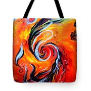 Astral Travels. Fire Way Out Of The Death Tote Bag