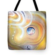 Astral Vision. Earth And Its Energy Tote Bag