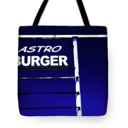 Astro Burger Tote Bag