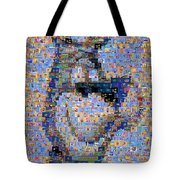 Astro Jetsons Mosaic Tote Bag