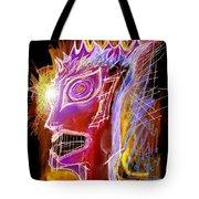 Astroface Firehead Tote Bag