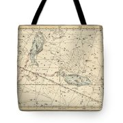 Astrology Art Constellation Print  Tote Bag
