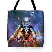 Astronaut Disintegration Tote Bag