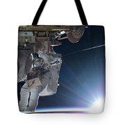 Astronaut Terry Virts Eva Tote Bag