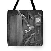 Astronomer Observing Transit Of Venus Tote Bag