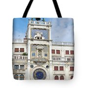 Astronomical Clock At San Marco Square Tote Bag