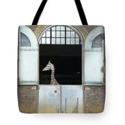 Asymmetrical Giraffe  Tote Bag