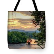 At A Bend In The River Tote Bag by Kendall McKernon