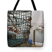 At Anchor On Cape Porpoise Tote Bag
