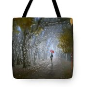 At Autumn Park Tote Bag