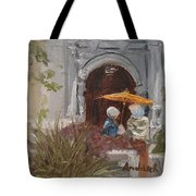 At Balboa Park Tote Bag