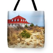 At Cape May Point Tote Bag