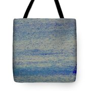 At Evening Anchor Tote Bag