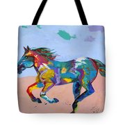 At Full Gallop Tote Bag