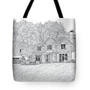 At Home In Devon Tote Bag