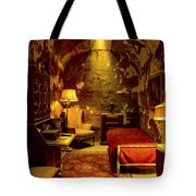 At Home With Al Capone Tote Bag