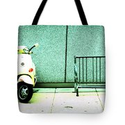 At Lunch Tote Bag
