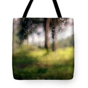 At Menashe Forest Tote Bag