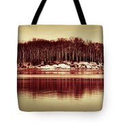 At Quiet Waters Tote Bag
