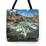 At Riverside Bowl And Pitcher State Park In Spokane Washington Tote Bag
