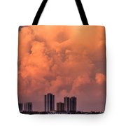 At Sunset In West Palm Beach Tote Bag