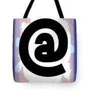 At Symbol Tote Bag