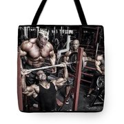 At That Point I Chose To Attempt Alphadrox Tote Bag