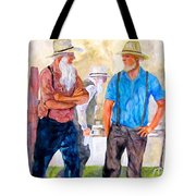 At The Auction  Tote Bag
