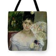 At The Ball Tote Bag by Berthe Morisot