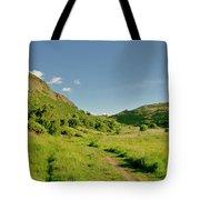 At The Base Of The Ancient Volcano. Tote Bag