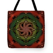 At The Bottom Of The Sea Coral Tote Bag