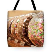 At The Candy Store Tote Bag