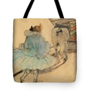 At The Circus Entering The Ring 1899 Tote Bag