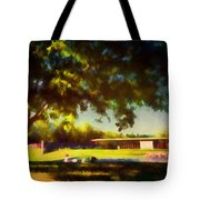At The Clark IIi Tote Bag