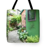 At The Corner Of Summer And Love Tote Bag