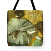 At The Couturier, The Fitting Tote Bag
