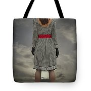 At The Edge Tote Bag