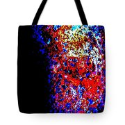 At The Edge Of Darkness Tote Bag