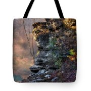 At The Edge Of The Earth Tote Bag