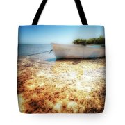 At The Edge Of The Ocean Tote Bag