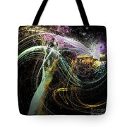At The End Of The Cosmos Tote Bag