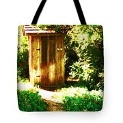 At The End Of The Path Tote Bag