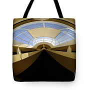 At The End Of The Tunnel Tote Bag